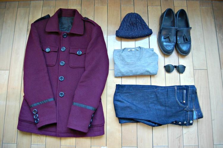 01a blogger coat hat hot uniqlo h&m fashion
