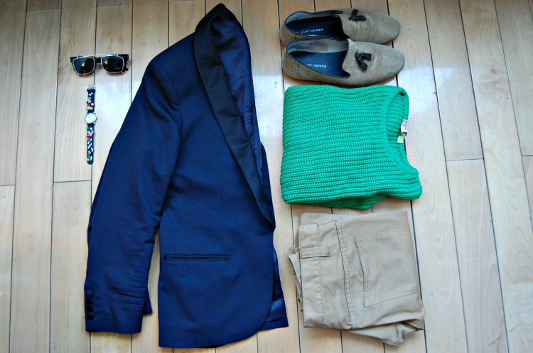 02 fashion Lanvin micky mouse green kurt geiger shoes blazer hot blogger