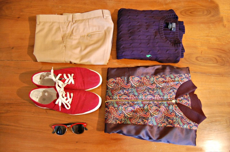 02 fashion taormina blogger 10third asks ralph lauren sweater sunglasses rayban