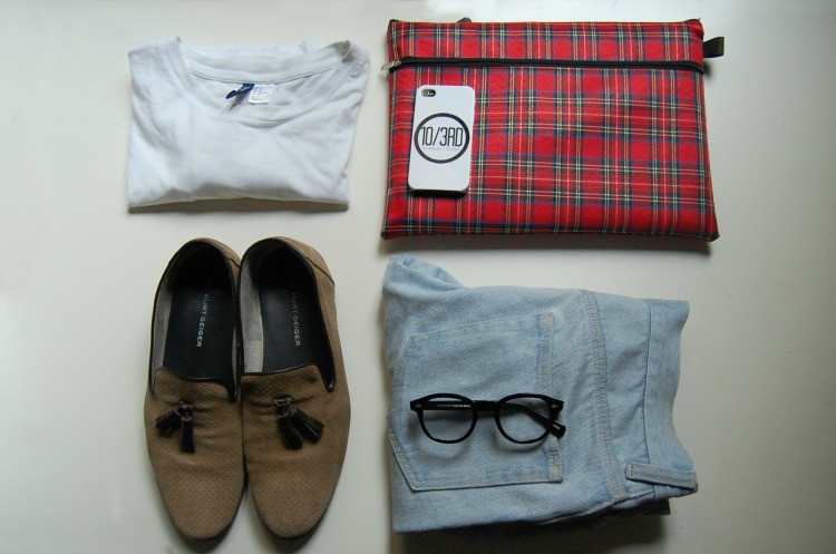 02 kurt geiger h&m loafers blogger 10third fashion check cover moscot glasses topman