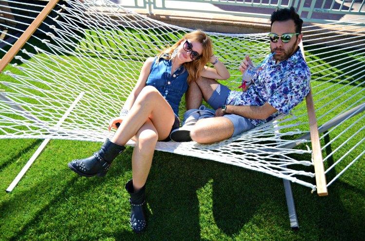 04 california coachella fashion palm springs blogger printed shirt prada sunglasses biker boots chiara