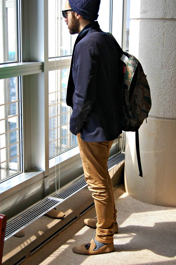 09 hat shanghai pudong fashion blogger backpack