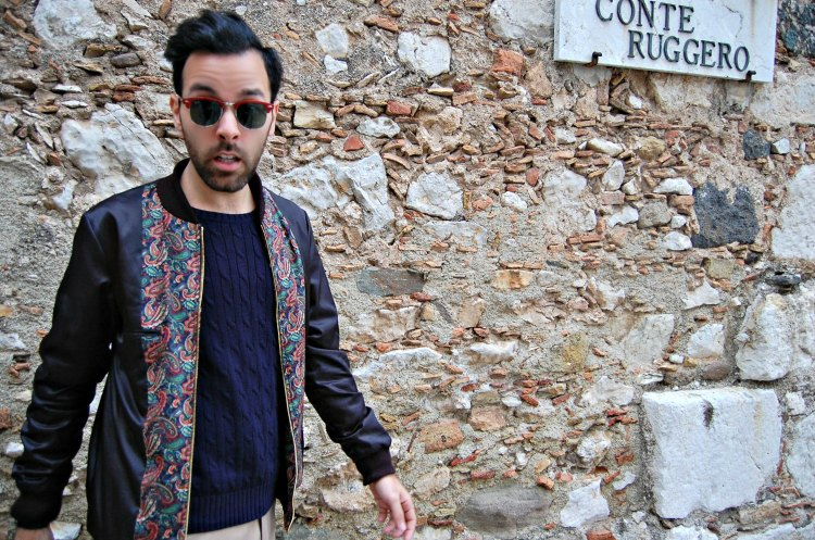 12 fashion taormina blogger 10third asks ralph lauren sweater sunglasses rayban
