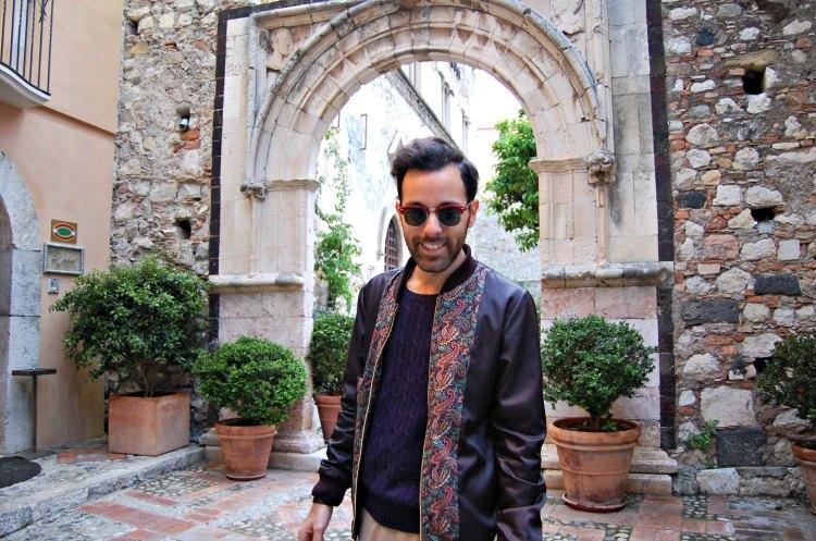 17 fashion taormina blogger 10third asks ralph lauren sweater sunglasses rayban