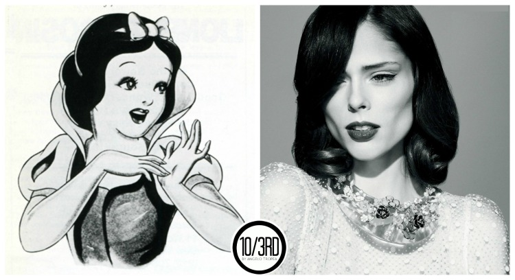 4 snow white coco rocha disney cartoon look alike  33