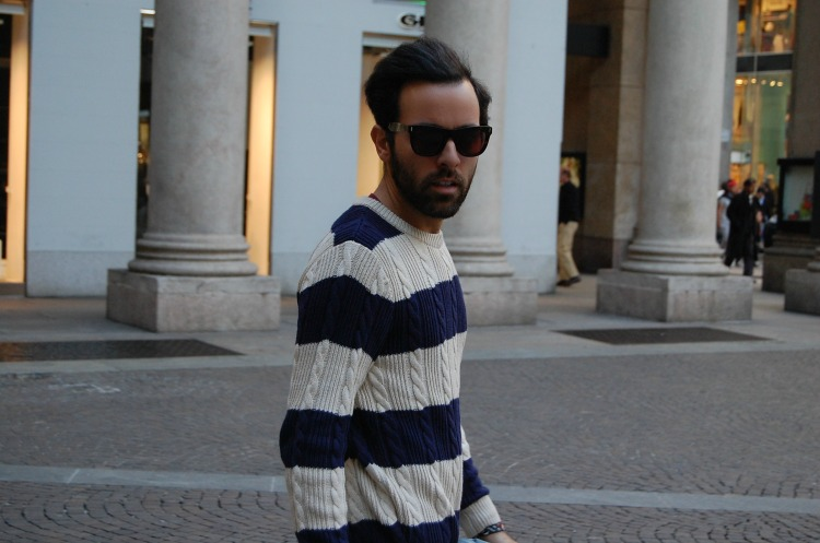 01 10third angelo tropea italian blogger h&m super fashion cheap monday stripes mustard