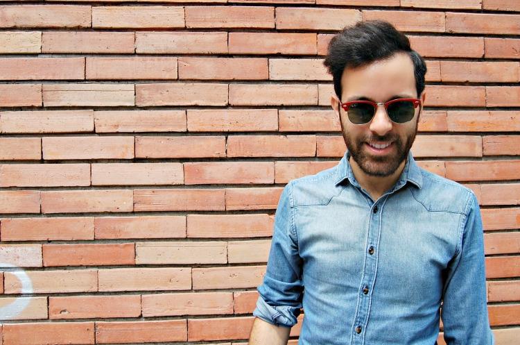 01 rayban 10third italian blogger denim fashion