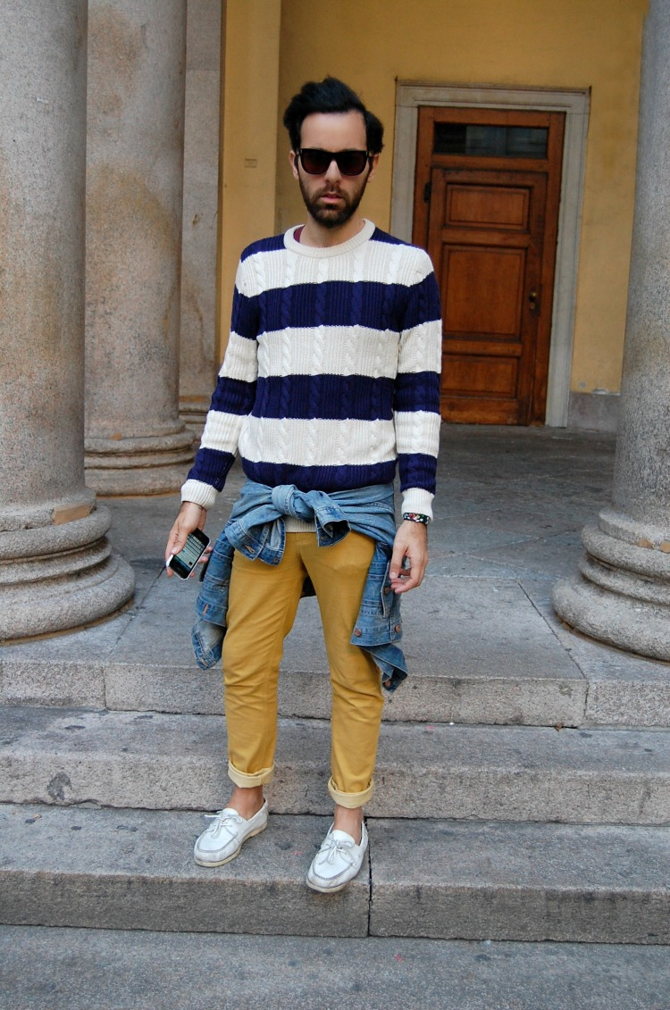 03 10third angelo tropea italian blogger h&m super fashion cheap monday stripes mustard