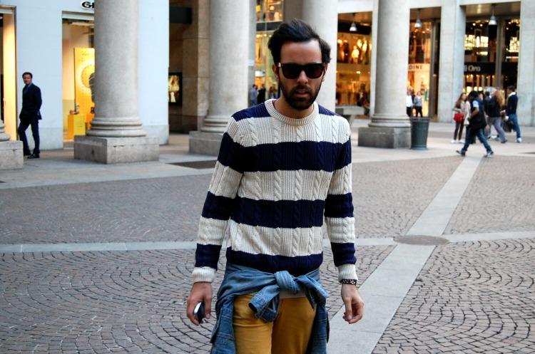 06 10third angelo tropea italian blogger h&m super fashion cheap monday stripes mustard