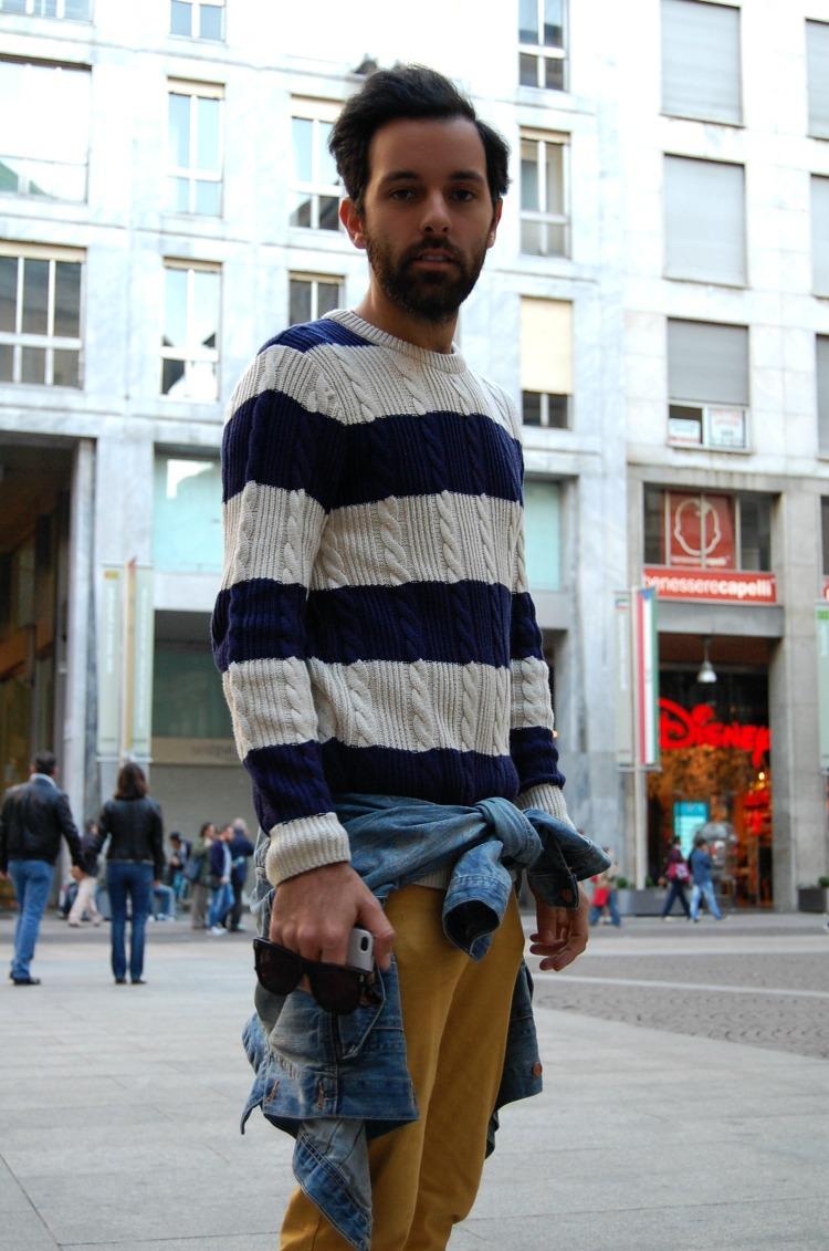 07 10third angelo tropea italian blogger h&m super fashion cheap monday stripes mustard
