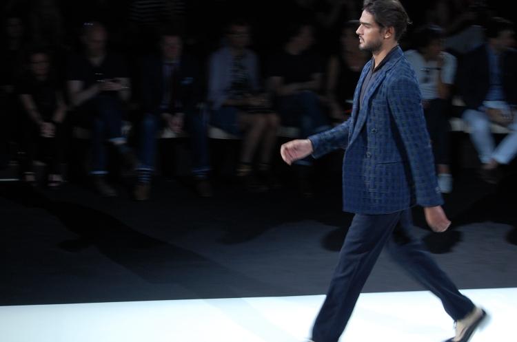 01 10third italian fashion blogger mfw ss 14 milan giorgio armani marlon texeira