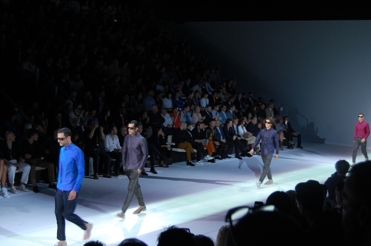 10 10third italian fashion blogger mfw ss 13 emporio armani