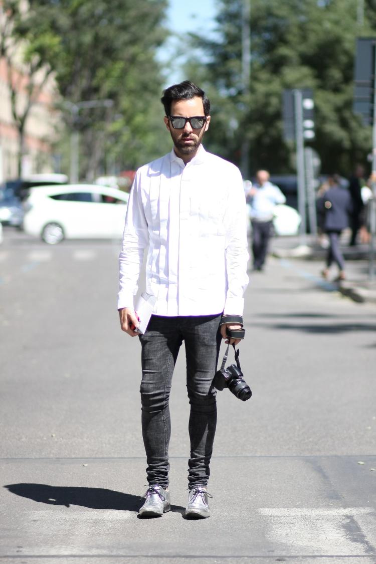 04 10third italian fashion blogger milan mfw ss 14 dior sunnies emporio armani kurt geiger silver angelo tropea